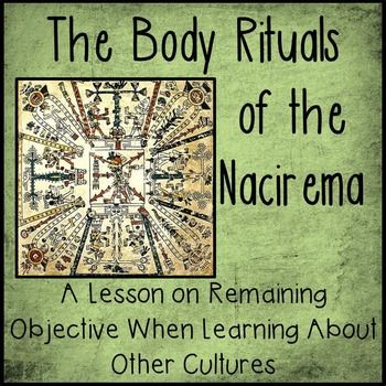 sociological perspective on body rituals of the nacirema by horace miner The nacirema) we might gain one perspective that , horace miner, nacirema, sociology of miner's body ritual among the nacirema is that.