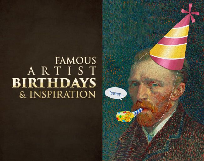 I've made a fully stocked birthday list of every famous artist that has inspired me along the way. Lots of samples to introduce you to their art and possibly inspire your own. Name links lead to a google search with more of their images, and I also include links to previous articles. Everyone from photographers, film makers, painters, printmakers, sculptors, and illustrators...almost like an artist glossary.  #art  http://www.ipoxstudios.com/famous-artist-birthdays-and-inspiration/