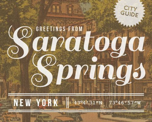 I've been to Saratoga, but there is much on this guide that I have never done!  Will have to check it out next time I'm in New York.