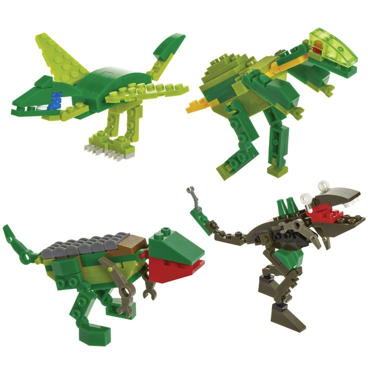 Wilko Blox Dinosaur Assortment