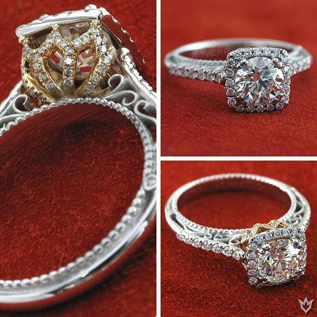 Distinctively vintage design, exciting styling possibilities. Verragio Engagement Rings and Wedding Bands. #yycweddings #yycbride #yycfashion #yycstyle #yyc #bridetobe #isaidyes #yycshopping #christmasengagement #xmasengagement @calgarybride @weddingfairyyc