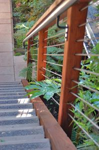 22 best images about stairs and handrails on pinterest home design florida style and railing - Refurbish stairs budget ...