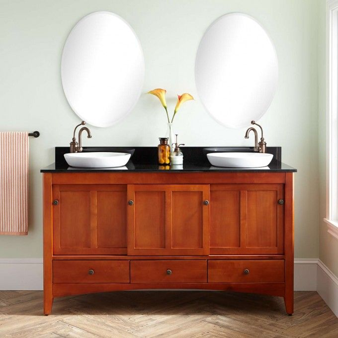 Semi Custom Bathroom Vanity: 25+ Best Ideas About Double Vanity On Pinterest