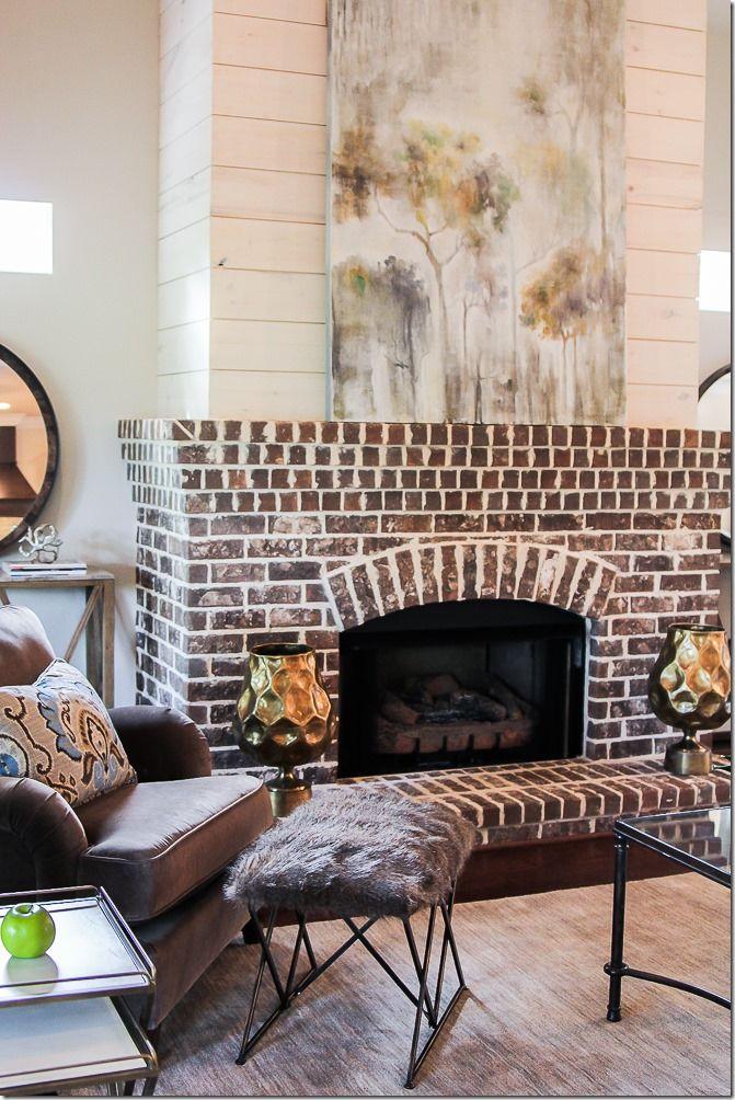 Best 25+ Exposed brick fireplaces ideas on Pinterest ...