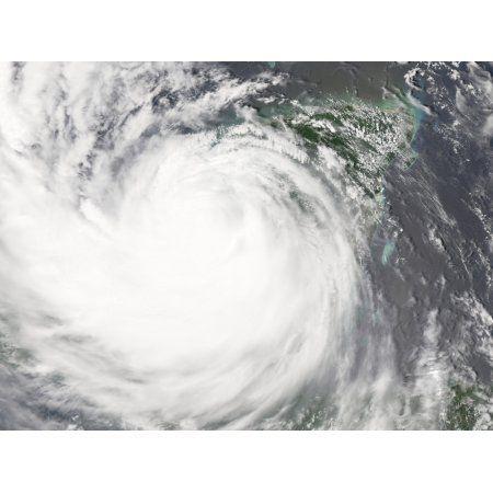 Hurricane Dean Canvas Art - Stocktrek Images (32 x 24)