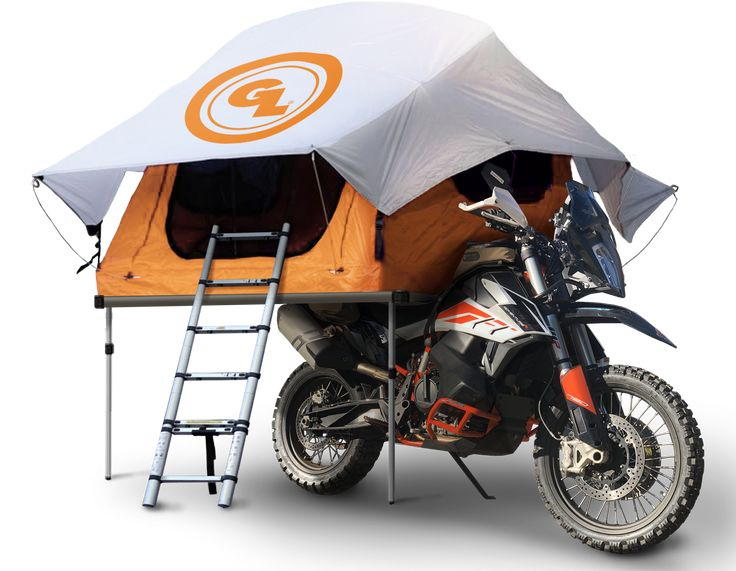 Innovation / Giant Loop develops Seat Top Tent for adventure bikes - Adventure Rider Tent Room, Motorcycle Camping, Motorcycle Tent Trailer, 2 Person Tent, Top Tents, Riding Gear, Rv Parks, First World, Touring