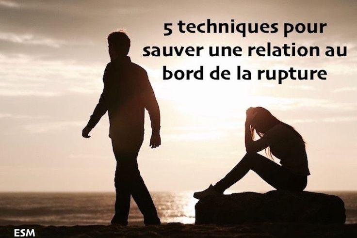 Sauver une relation:Les relations sont difficiles à entretenir Il faut que les deux partenaires s'investissent pour que la relation reste saine et bénéfique