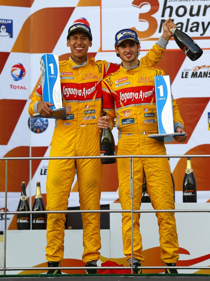 Illustration: Sean Gelael (INA) & Antonio Giovinazzi (ITA). First Winner in Sepang Asian Le Mans 2016. Taken by Gregory Heirman #Racing #RacingDrivers #Motorracing #ALMS #FormulaCar #BanggaIndonesia Find out more by clicking on the following link https://www.facebook.com/TeamJagonyaAyam/timeline https://twitter.com/TeamJagonyaAyam