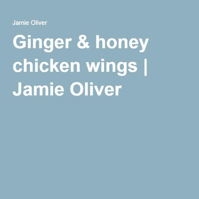 Ginger & honey chicken wings | Jamie Oliver