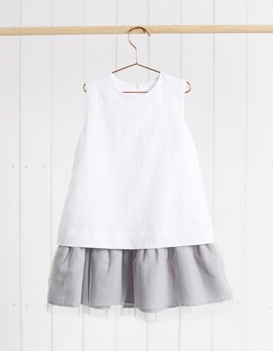 vestido lino blanco de @neckandneck http://www.neckandneck.com/Producto/16V01125.80?utm_source=social_share
