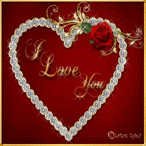 I Love You love heart animated love quote gif i love you valentines day valentine's day love greeting