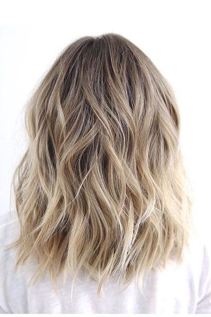 Invest In Easy ColorThe right hair color can make any style look instantly more polished — but that doesn't mean you have to refresh it every month. This lived-in blond, with expertly placed highlights, lasts up to six months. #refinery29 http://www.refinery29.com/new-beauty-routine-resolutions-2016#slide-11