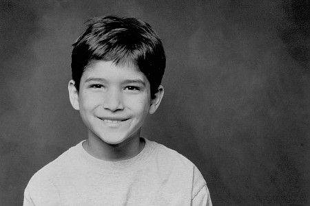 Tyler Posey in childhood
