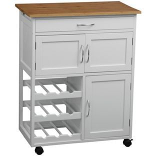 buy kitchen trolley with bamboo top   white at argos co uk   your the 25  best kitchen cabinets argos ideas on pinterest  rh   pinterest co uk