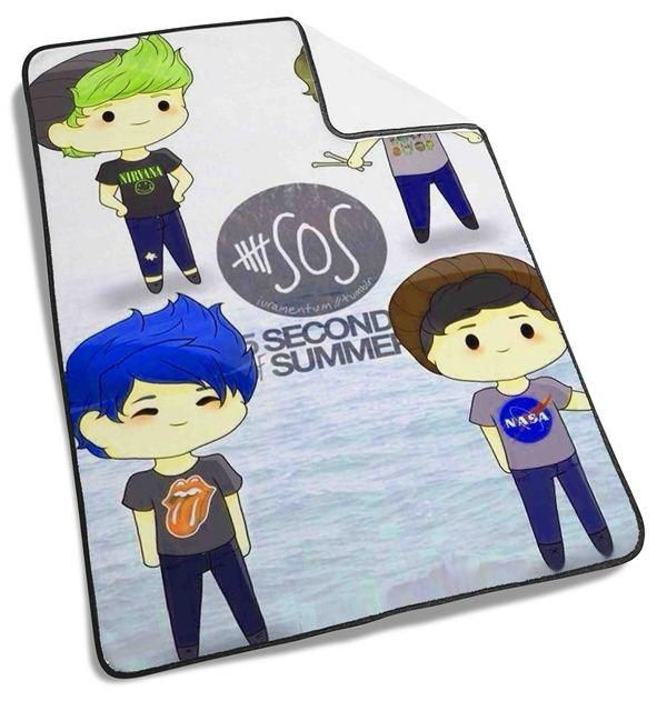 5 Second 5SOS cartoon Blanket #HomeandLiving #Bedding #BlanketsandThrows #Quilts #babygift #babyblanket #quiltedcribquilt #blanket #HomeandLiving #Bedding #BlanketsandThrows #Throws #fleeceblanket #fleecethrow #gift