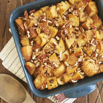 Bakery croissants, good quality chocolate, and a few basic ingredients are all you need to make this delectable Chocolate Croissant Bread Pudding.