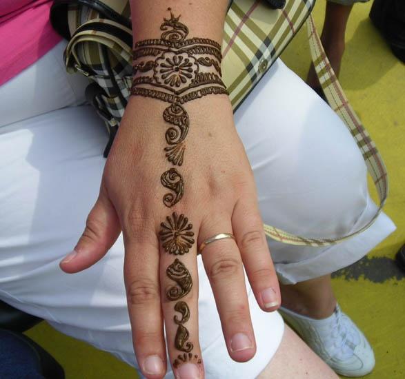 Henna Wrist Bracelet