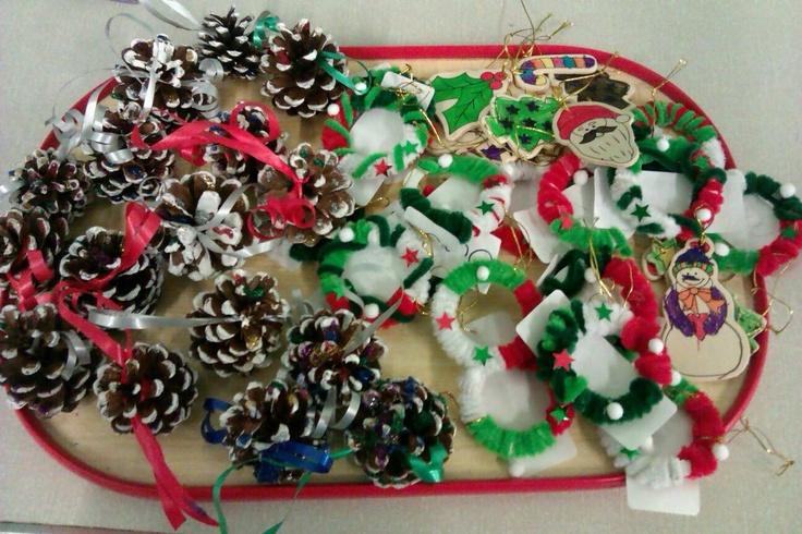Christmas Tree decorations (Dec 2012)