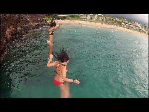 Maui Adventures – 2012 GoPro Cliff Jump Compilation What do ya think Adam?
