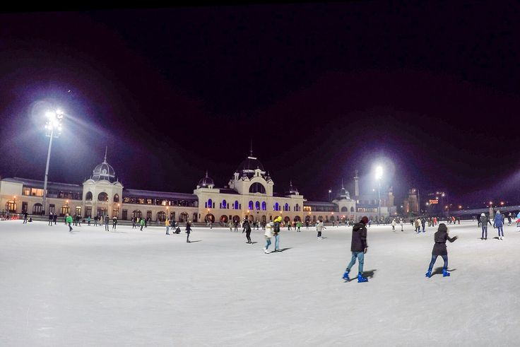 Europes Largest Outdoor Skating Rink: Ice Skating in Budapest