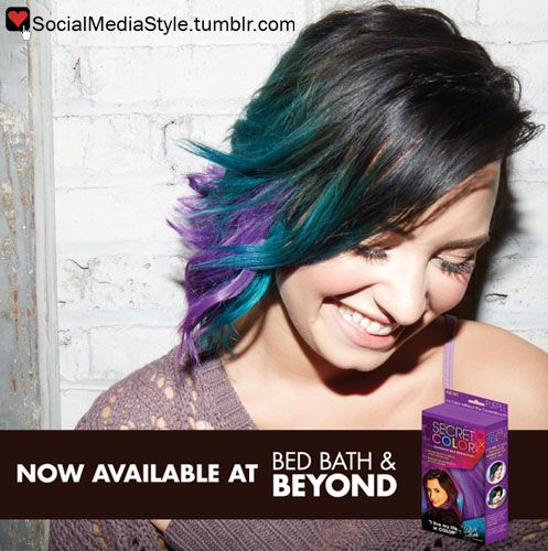 Buy Demi Lovato's Secret Color Headband Hair Extensions, here!