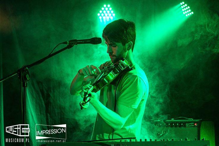Owen Pallett; Pardon To Tu, Warsaw  22.04.2015r.  fot. Michał Wagner