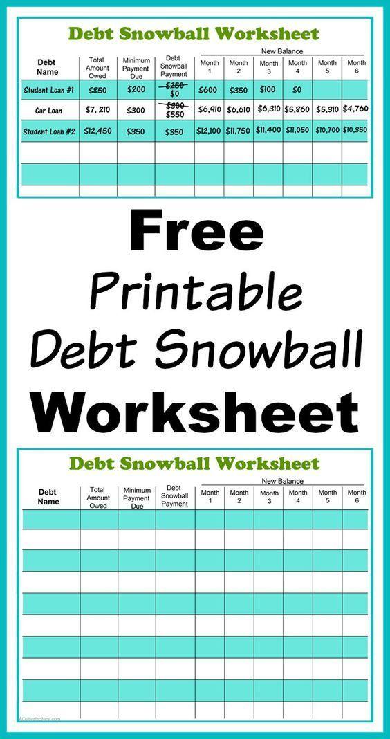 58 best Saving Money Tricks  Tips images on Pinterest Finance - get out of debt spreadsheet