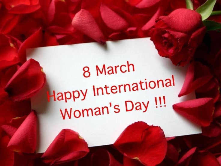 Happy international woman's day