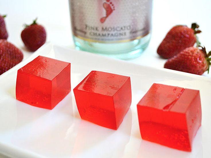 strawberry champagne jello shots: Budget Byte, Champagne Jello Shots, Jello Shot Recipes, Food, Jello Shots Recipes, Champagne Jell O', Jell O' Shots, Drinks, Strawberries Champagne