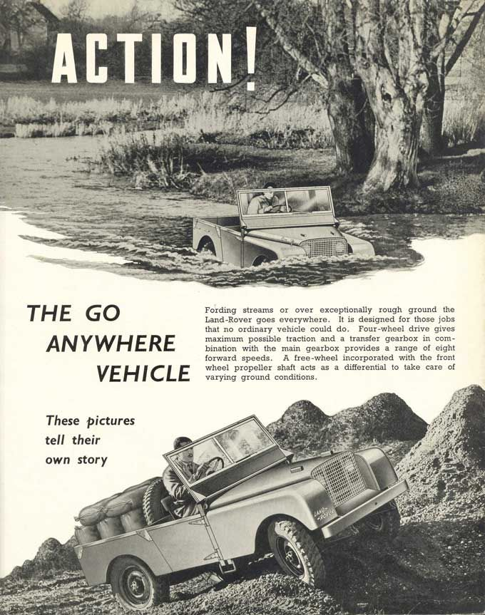 The First Land Rover Brochure 1948 Car Stuff