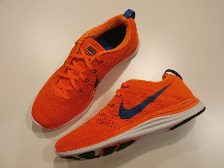 nike lunar flyknit one orange blue 2 Nike Flyknit Orange Blue