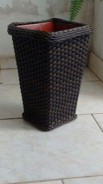 Vaso de fibra sintetica