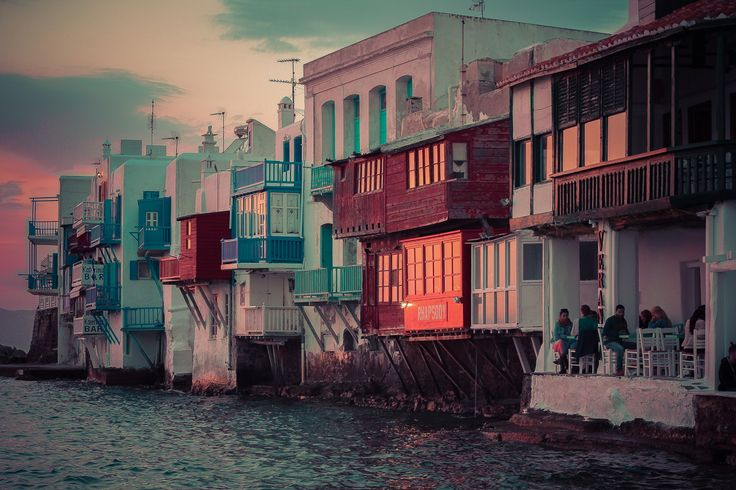 Little Venice, Mykonos Island by Kostas Chrstdls Little Venice is one of the most romantic places in the whole of Mykonos. This neighborhood is replete with elegant and gorgeous old houses that are...