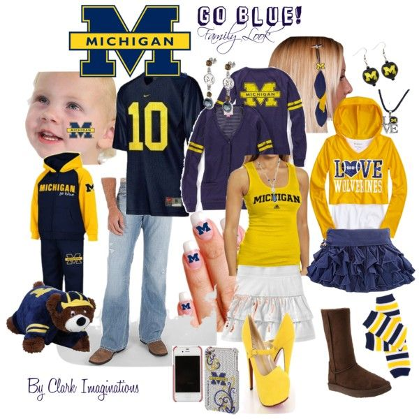 University of Michigan U of M: Goblue, Fit Outfits, Fitness Outfits, Workout Outfits