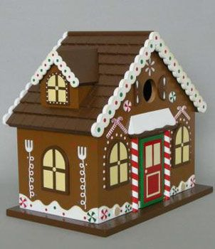 50 best Christmas Birdhouses images on Pinterest | Bird houses ...