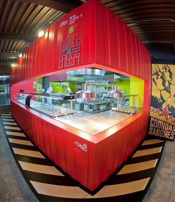 Bikin Booth Container Emang Lagi Hype Ni Selain Modelnya Yang Unik Juga Tahan Lama Yuk Diorder Gak Pake Lama Fast Respon Htt Container Store Desain Rumah
