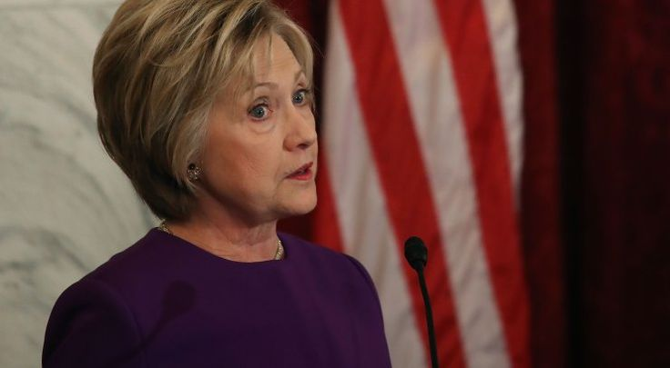 """By Ese Olumhense  """"As an American, I'm pretty worried""""  www.contacthillaryclinton.com In her first public interview since her historic presidential election defeat, Hillary Clinton in New York on Thursday expressed deep concern about Russia's role in the November race — calling it an """"act of aggression"""" — and threw support behind an independent investigation into any collusion between President Donald Trump's team and Russian President Vladimir Putin."""
