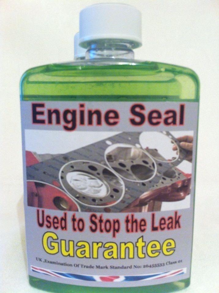 ENGINE BLOCK HEAD GASKET REPAIR ENGINE SEAL RADIATOR SEALER PETROL OR DIESEL.MCP #EngineSealMCP