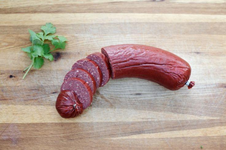 Horse Sausage: Swedish Gustafskorv #Darlana #Svensk #Mat