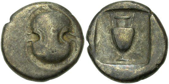 Thebes, Boeotia, Greece, c. 480 - 456 B.C.