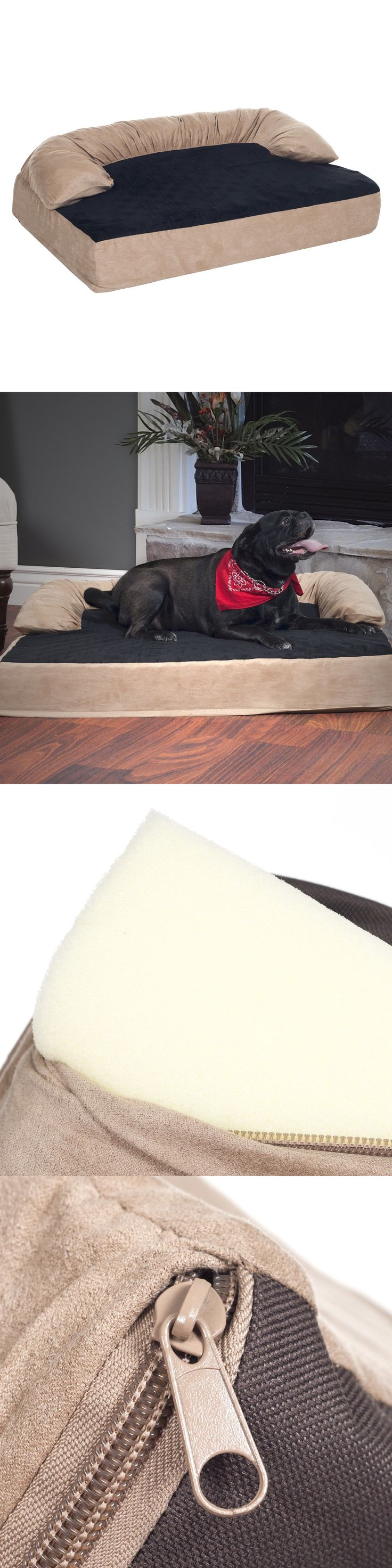 Beds 20744: Paw Orthopedic Memory Foam Joint Relief Bolster Dog Bed 25 X 17 Inches Small -> BUY IT NOW ONLY: $32.99 on eBay!
