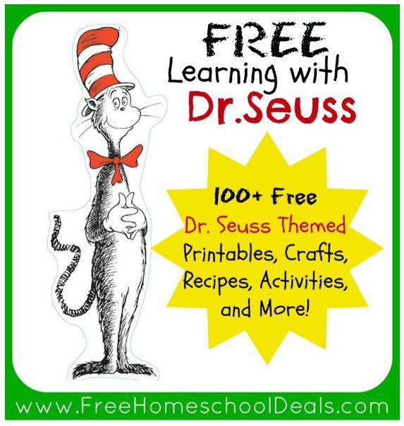 Dr. Seuss Educational Freebies