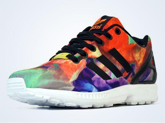 "adidas Originals Women's ZX Flux ""Floral"""