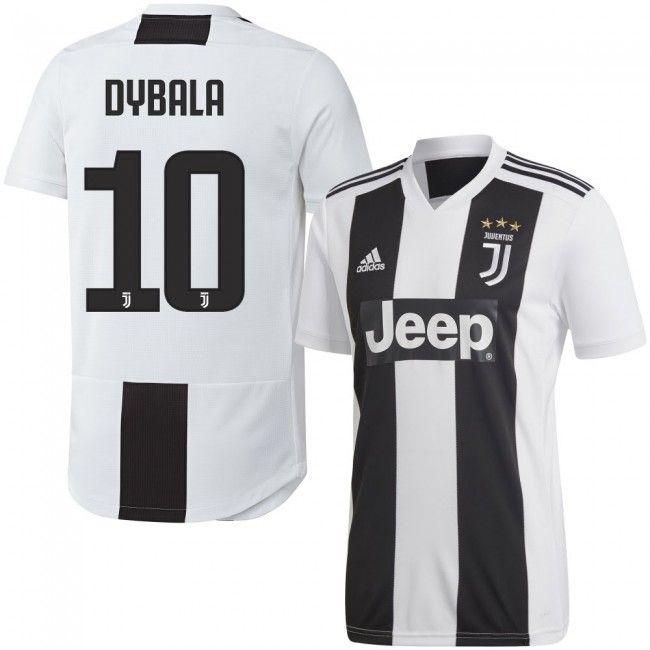 Juventus 2018-2019 Dybala 10  Home  Local  Domicile  Heim  Juventus ... e7a2508ab2230