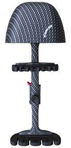 ALTUS BRANDS LLC Kwikee Combo 4 Arrow Quiver Carbon Black, EA