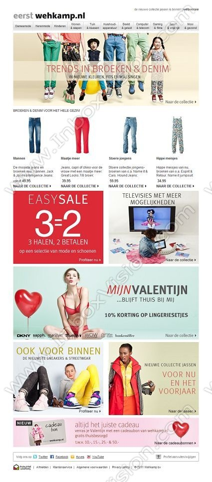 Company:  Vanvoordeel Subject:  Nieuwe trends in broeken & denim | 10% korting op lingeriesetjes!              INBOXVISION providing email design ideas and email marketing intelligence.    www.inboxvision.com/blog/  #EmailMarketing #DigitalMarketing #EmailDesign #EmailTemplate #InboxVision  #SocialMedia #EmailNewsletters
