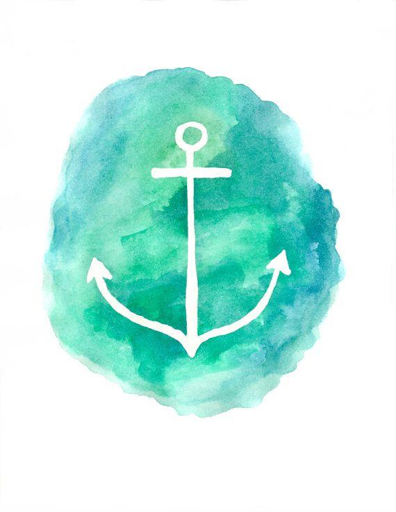 Anchor Printable - Etsy - Little Pond Prints