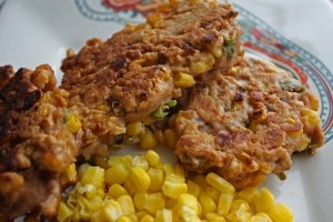 Clean Eating Corn Fritters