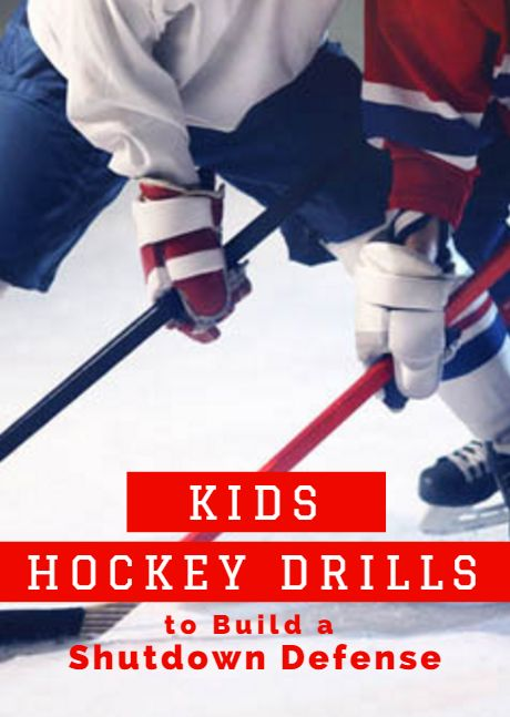 Get in the game with these hockey drills. Kids Hockey Drills to Build a Shutdown Defense http://www.activekids.com/hockey/articles/kids-hockey-drills-to-build-a-shutdown-defense?cmp=17N-PB34-S13-T9-D1--8