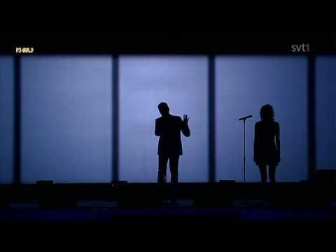 ▶ John ME Amanda Jenssen Love Is My Drug Live P3 Guld 2009 - YouTube